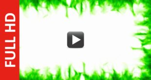Green & White Screen Background Video Frame