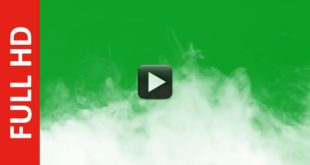 Smoke Green Screen Background HD