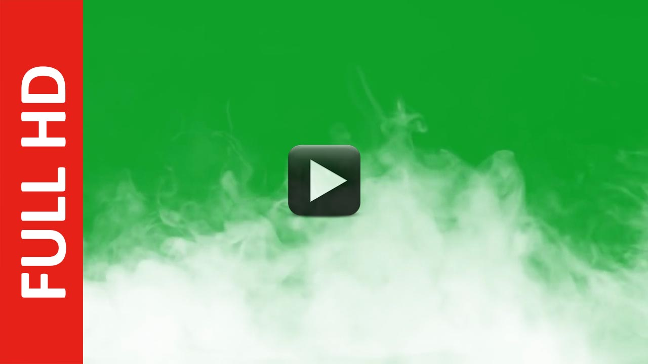Smoke Green Screen Background HD