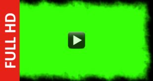 Smoke Green Screen Dust Frame Video HD ✔ Effect
