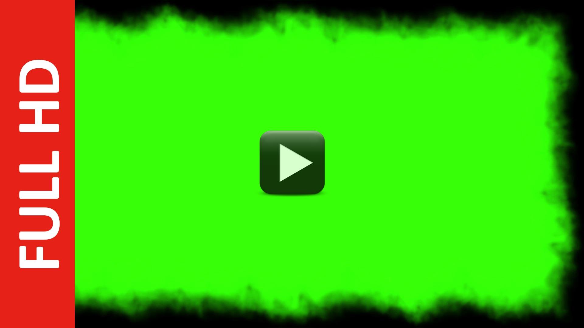 Smoke Green Screen Dust Frame Video HD ✓ Effect | All Design Creative