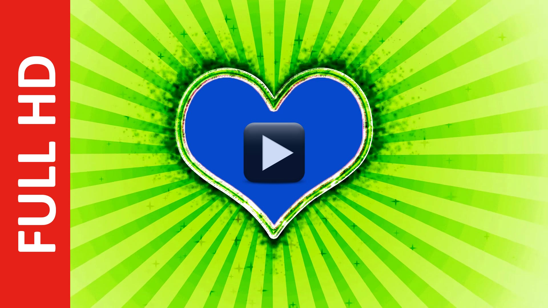 Wedding Love Frame Green And Blue Mat Screen Background Effect Hd