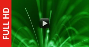 Green Motion Background