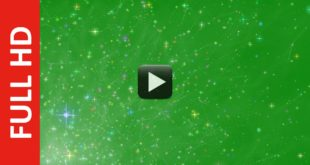 New Effect Colorful Stars Green Screen background Video HD