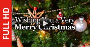 Christmas Wishes & Greetings- We Wish You a Merry Christmas & Happy New Year