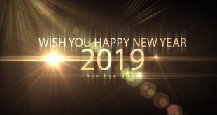 Happy New Year 2019 | Wishing A New Year Animated Motion Graphics | Bye Bye 2018