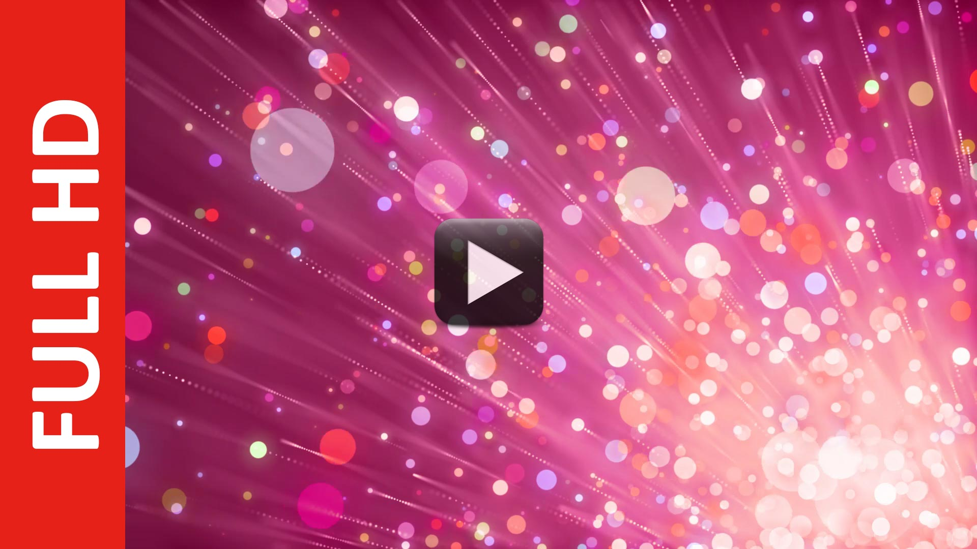 New Bokeh Background Video Effects HD Royalty Free Footage Animation