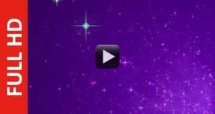New Style Stars Motion Background | Free Violet BG Effect Video HD