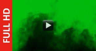 Black Smoke Green Screen Effect HD Video Free Footage!