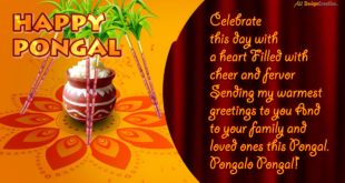 Happy Sankranti Greeting Cards Animated and Pongal Whatsapp Status