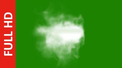 Center Smoke Green screen Effect HD Video Free Download