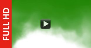 HD Smoke Green Screen Effect Royalty Free