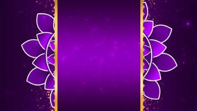 Free Wedding Invitation Title Animated Background Video