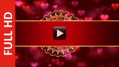 Royal Indian Style Wedding Card Invitation Intro Title