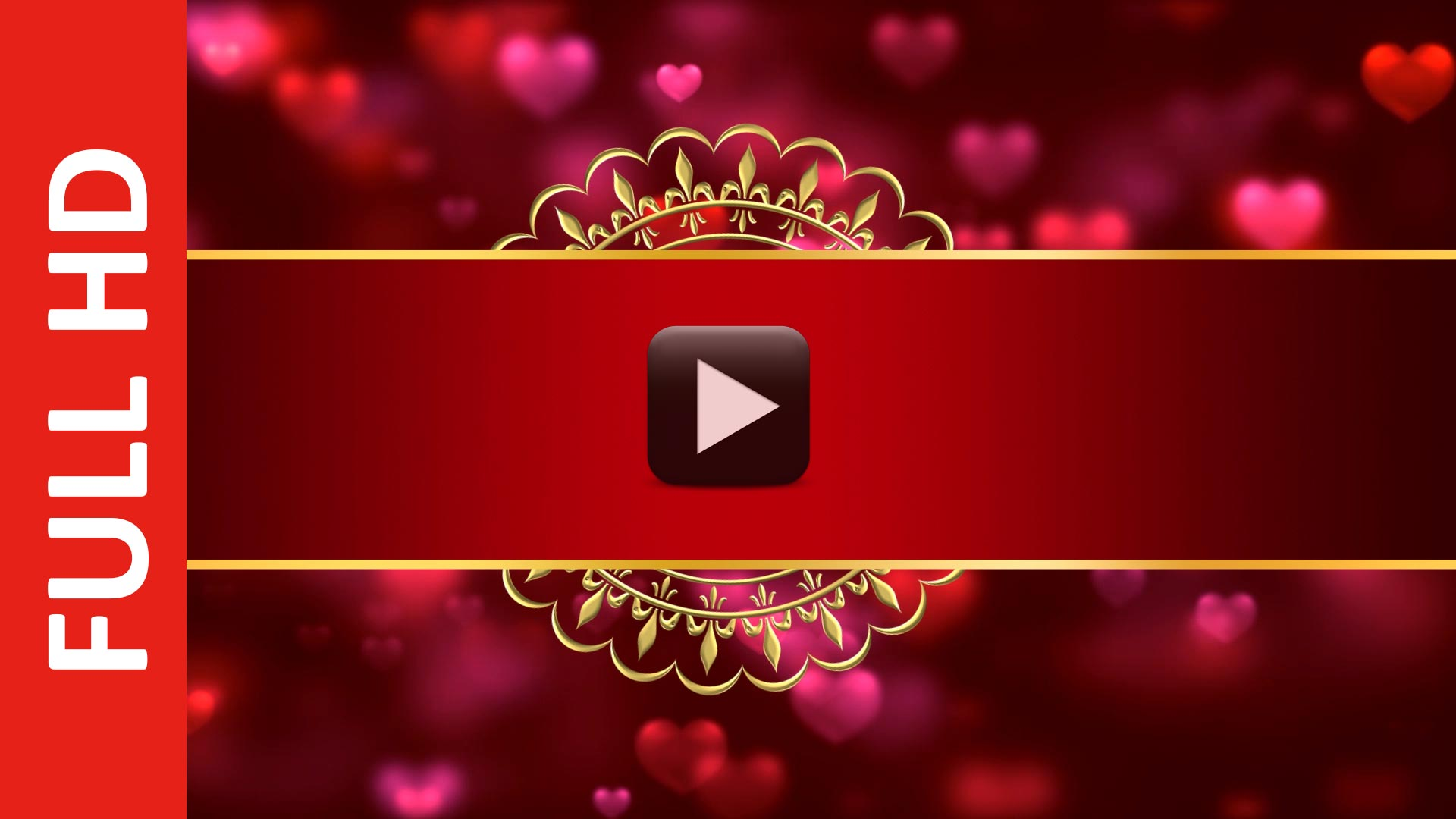 Royal Indian Style Wedding Card Invitation Intro Title Background ...