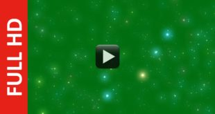Star Particles Green Screen Background Video Effects HD