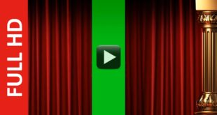 Green Screen Curtain Intro Premium Full HD 1920x1080px!
