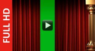 Green Screen Curtain Intro Premium Full HD 1920x1080px!