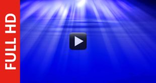 Deep Water Motion Background Blue Screen Video Effect