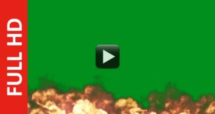 HD Fire Explosion Green Screen | Blue | Black Screen background Video Download