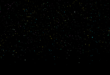 New Glitter Particles Black Screen Background Video Effect