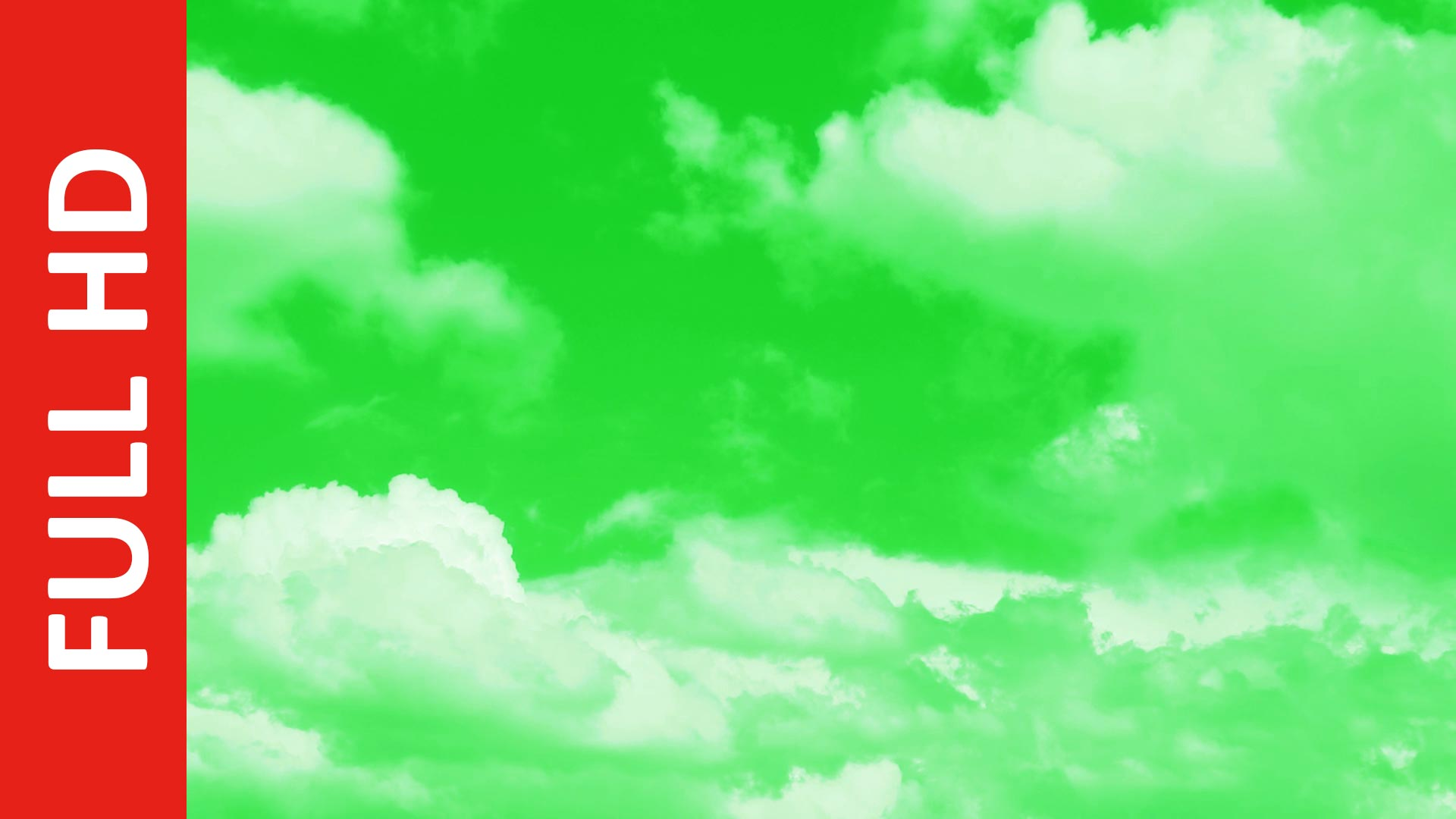 Best Cloud Green Screen Video Background   Realistic Free Moving Clouds Animation