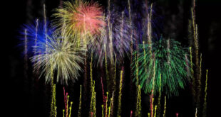 Fireworks Background Video Effects HD with Sound