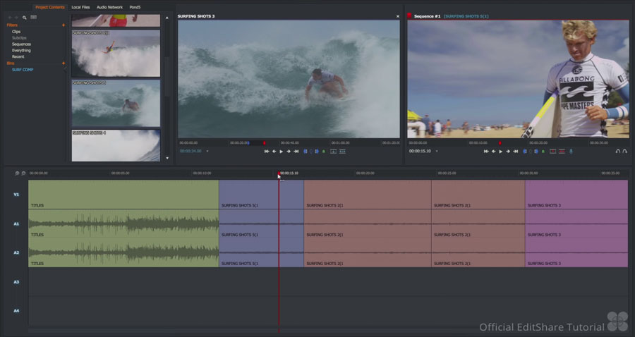 Lightworks for Windows, Mac, and Linux