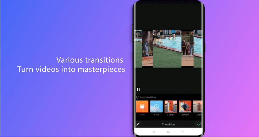 VivaVideo for Android, iOS