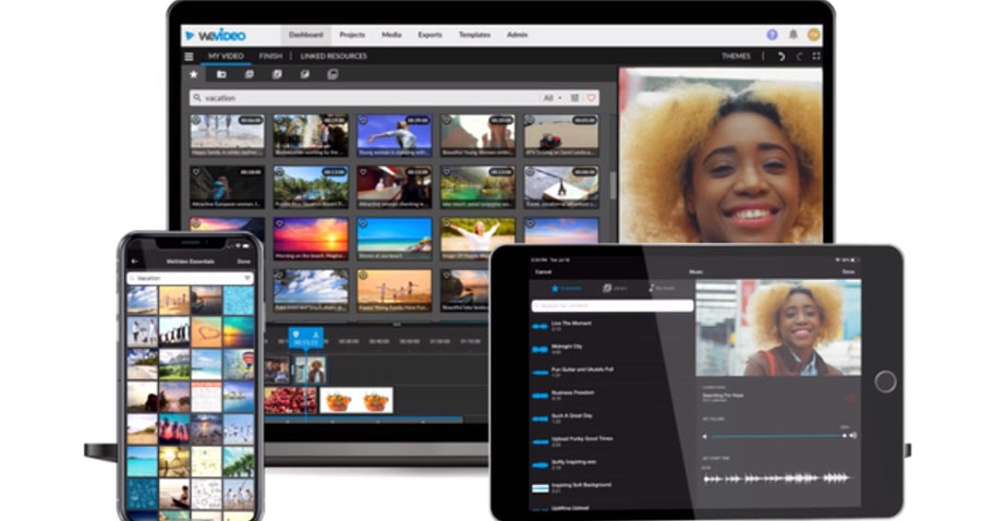 WeVideo Pro for Windows, Mac, and mobile
