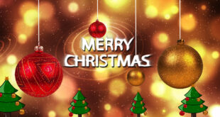 Happy Christmas | Merry Christmas Wishes | Merry Christmas Greeting- Merry Christmas Card Video 2021