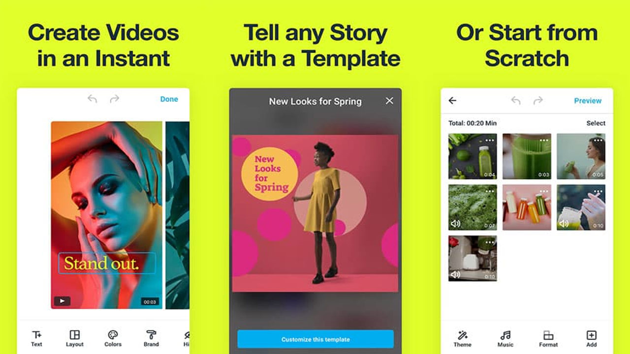 Vimeo Create for Windows, iOS and androids