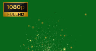 Fire Dust Particles Sparks Green Screen Background Effects HD