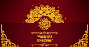 Royal Wedding Invitation Video | Wedding Invitation Video free for Whatsapp