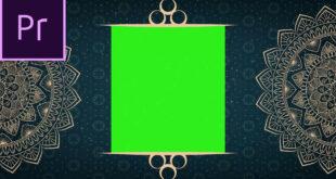 Premiere Pro Templates Free Download-Wedding Invitation Green Screen Open and Close effect Premiere Pro File