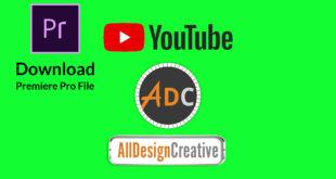 Premiere Pro Templates Free Download-YouTube Channel Intro Premiere CC Template