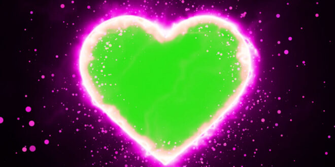 Love Frame Background for Wedding | Free Green Screen Love Effects Download