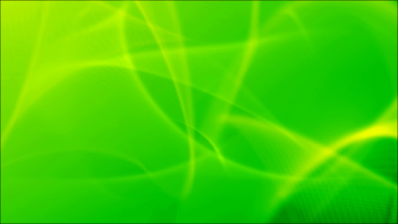 Green Abstract Curves Light All Design Creative
